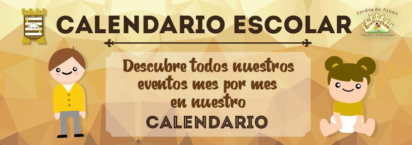 Calendario Escolar Colegio slp